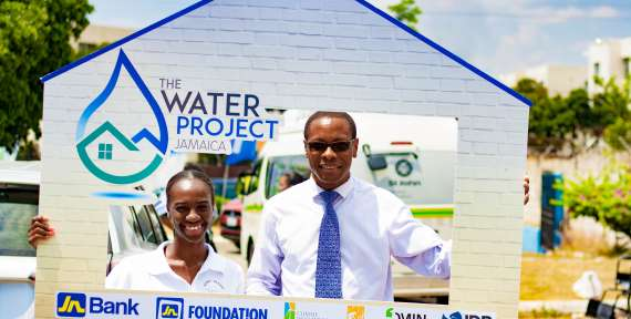 Jamaicans to Benefit from JN Water Project