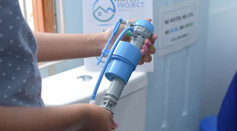 JN Water Project urges conservation with special devices