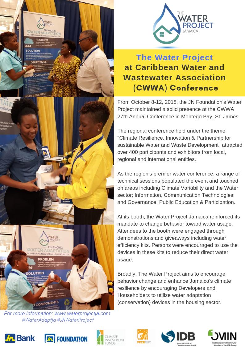 Water Proj @ CWWA