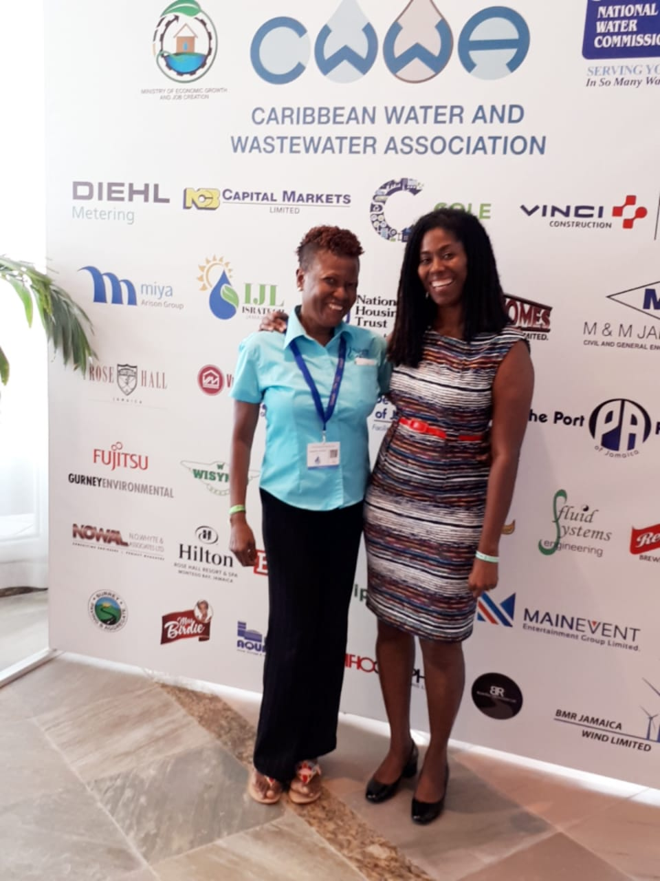 Water Project at CWWA Conference 2018-12