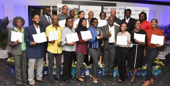 15 Graduate from JN Water Project Water Harvesting Training